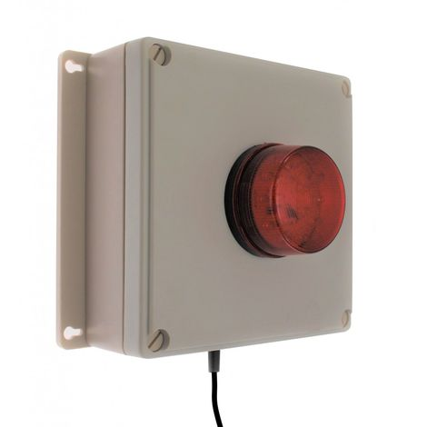 Flashing RED or Blue LED Mains Power Failure System 008-1560 (Red) 008-1565 (Blue)