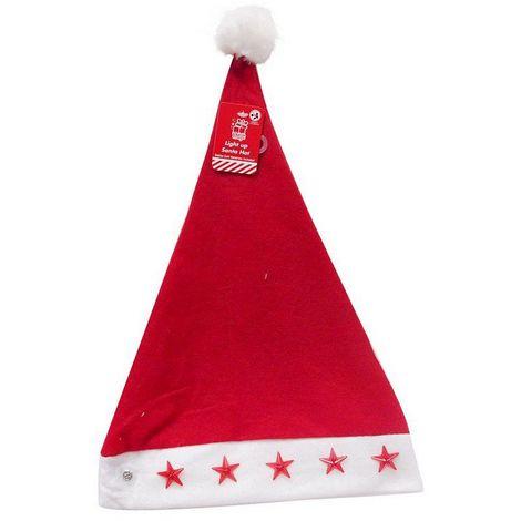 Flashing Santa Hat UBL