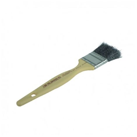 Flat brush steel bristle