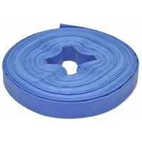 """Flat Hose 25 m 1"""" PVC Water Delivery"""