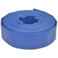 "Flat Hose 25 m 2"" PVC Water Delivery"