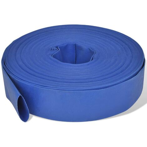 """Flat Hose 50 m 2"""" PVC Water Delivery"""