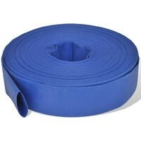 "Flat Hose 50 m 2"" PVC Water Delivery"