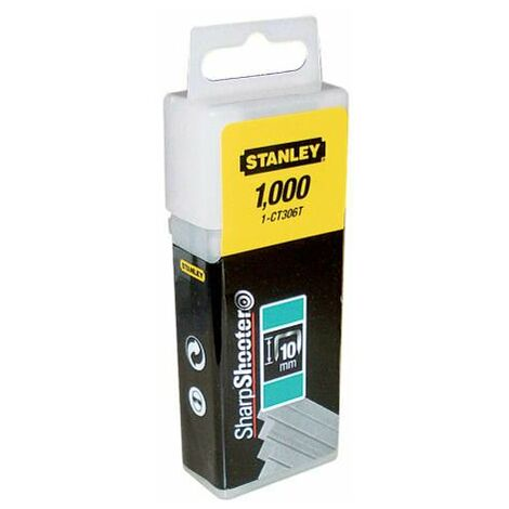 Flat Narrow Crown Staples 8mm CT305T Pack 1000 STA1CT305T