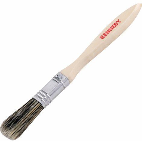 Flat Paint Brushes, Natural Bristle