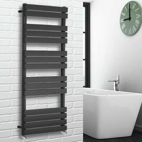Flat Panel Heated Towel Rail Anthracite
