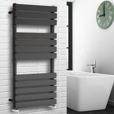 """main image of """"Flat Panel Heated Towel Rail Bathroom Rad Radiator Anthracite"""""""