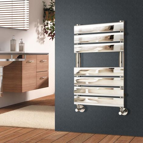 Flat Panel Heated Towel Rail Chrome