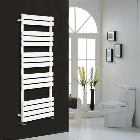 Flat Panel Heated Towel Rail White