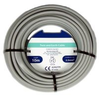Flat Twin and Earth Cable 1.5mm x 10m
