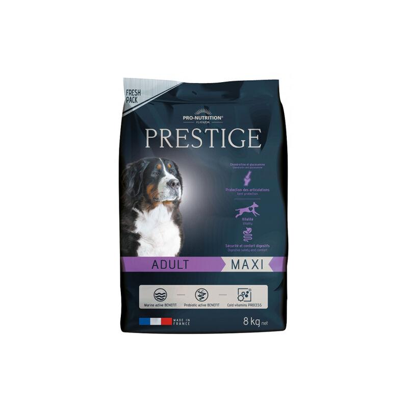 Adulte Maxi, Croquettes pour grands chiens Désignation : Prestige Adulte Maxi | Conditionnement : 10 sacs de 15 kg FP4151P10 - Flatazor Prestige