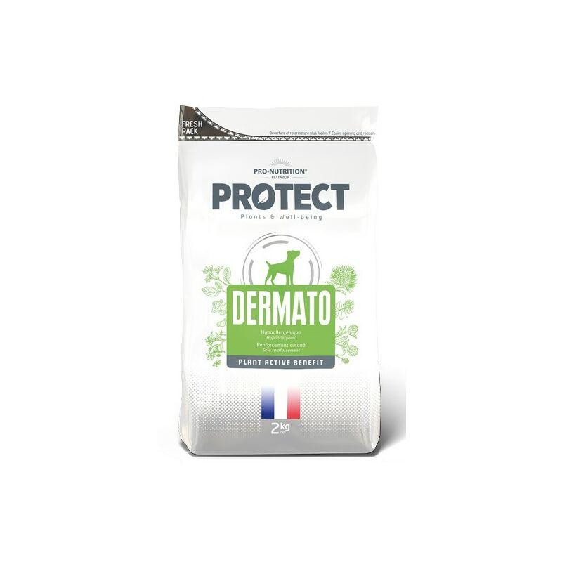 Dermato pour chiens Désignation : Protect Dermato   Conditionnement : 2 sacs de 12 kg FP5031P2 - Flatazor Protect