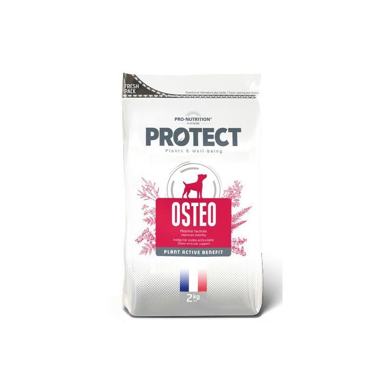 Ostéo pour chiens Désignation : Protect Ostéo   Conditionnement : 2 sacs de 12 kg FP5021P2 - Flatazor Protect