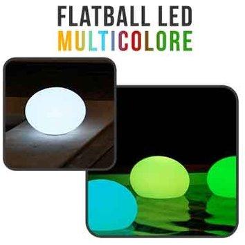 Flatball, lampe led flottante 35cm x 35cm x 24cm rechargeable + Télécommande - Linxor