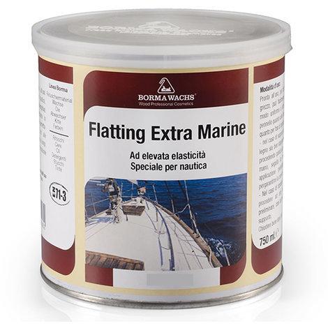 Flatting speciale per nautica al solvente extra marina trasparente opaca 750 ml