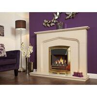 Flavel FKPCDBSN Gold Decadence Plus Gas Fire - SC