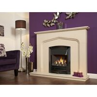 Flavel FKPCDNRN2 Black Nickel Decadence Plus Gas Fire - RC