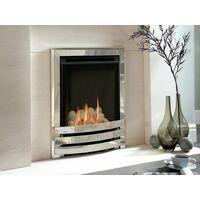 Flavel FSHPU0MN Pebble Silver Contemporary Windsor HE Gas Fire - MC