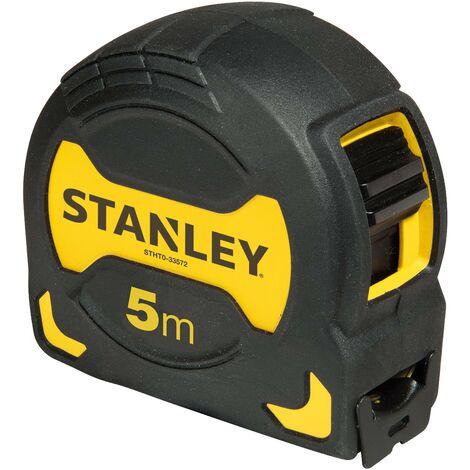 Flessometro 5 mt nastro 28 mm art. 33.559 Stanley 6 PEZZI