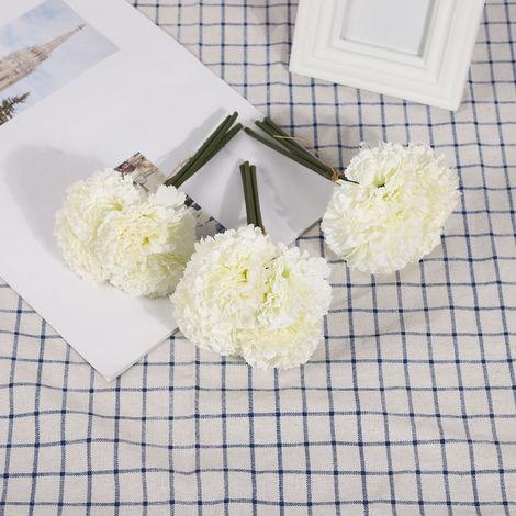 Fleurs Artificielles, Decoration De Bricolage A La Maison, 4 Pcs, Type 1