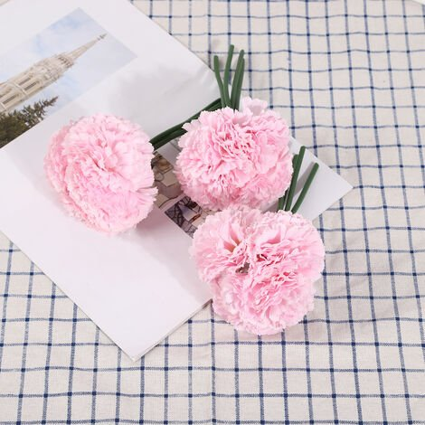 Fleurs Artificielles, Decoration De Bricolage A La Maison, 4 Pcs, Type 2