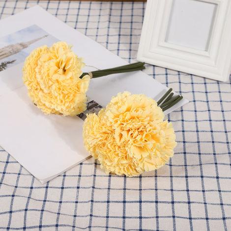 Fleurs Artificielles, Decoration De Bricolage A La Maison, 4 Pcs, Type 3