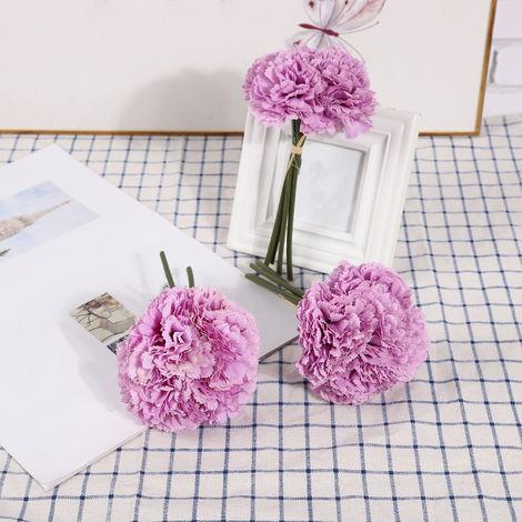 Fleurs Artificielles, Decoration De Bricolage A La Maison, 4 Pcs, Type 6