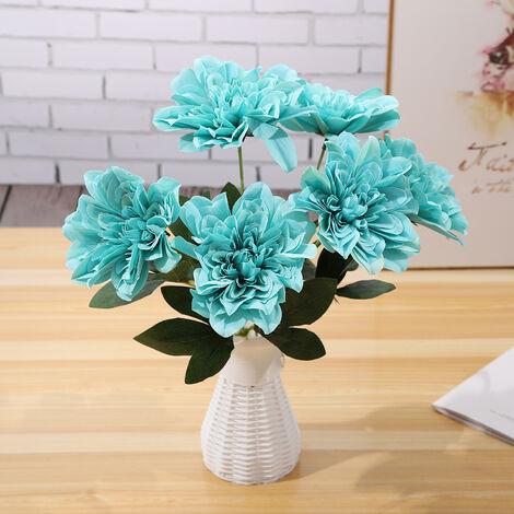 Fleurs Artificielles, Decoration De Bricolage A La Maison, 6Pcs, Type 8