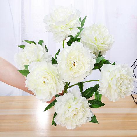 Fleurs Artificielles, Decoration De Bricolage A La Maison, 7 Pcs, Type 7