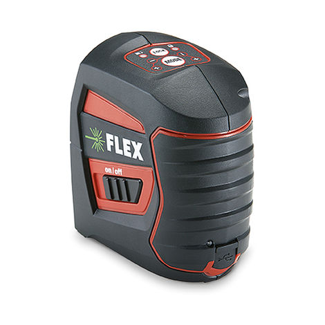 Flex ALC 2/1-G Kreuzlinien-Laser, grün #455.997