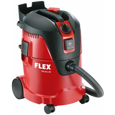 FLEX Aspirador de seguridad VCE 26 L MC de 25 L con limpieza de filtros manual clase L