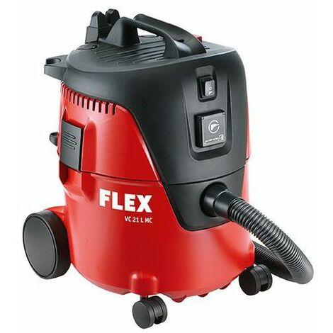 Flex Aspirateur de sécurité 1250 W avec nettoyage manuel du filtre, 20 l classe L VC 21 MC - 405.418