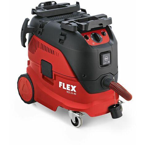 Flex Aspirateur de sécurité avec nettoyage automatique du filtre, 30 l classe M VCE 33 AC - 444.138