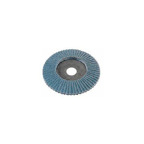 Flex Fächerschleifscheibe für Metall und Edelstahl, bombiert, 10 Stück - 349933