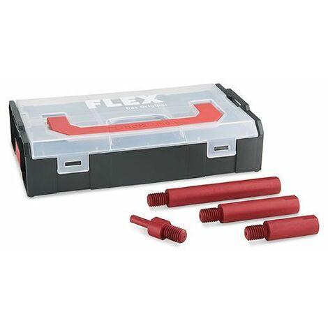 Flex Kit de rallonges d'arbre pour polisseuses rotatives EXS M14 Set - 458813
