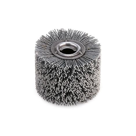Flex Nylonbürste D100x70 Schleifbürste Rundbürste Topbürste Kunststoffbürste Satiniermaschine entgraten reninigen glätten