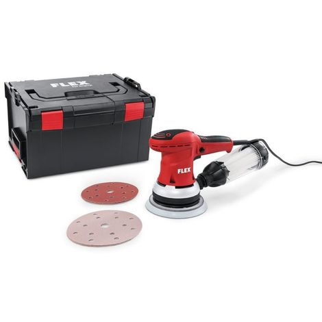 Flex ORE 150-5 Set Ponceuse excentrique avec régulation de régime en kit, 150 mm