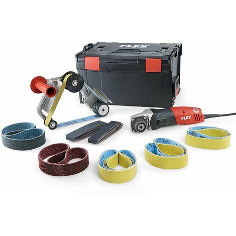 Flex Ponceuse à bande pour tubes TRINOXFLEX en set BRE 14-3 125 Set - 433.446
