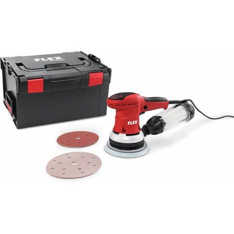 Flex Ponceuse excentrique avec régulation de régime en kit, 150 mm ORE 150-3 Set - 379.603