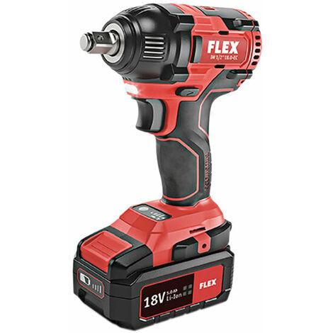 Flex Power Tools FLX-IMP 1/2in Impact Wrench 18V 2 x 5.0Ah Li-ion