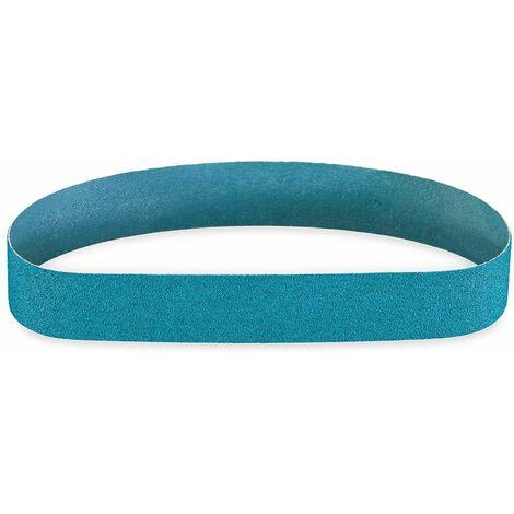 MENZER Blue Schleifb/änder Zirkonkorund Handbandschleifer Korn 60 610 x 100 mm 10 Stk. f