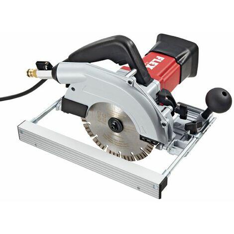 Flex Scie circulaire à eau pour coupes humides, coupes d'onglets jusqu'à 45°, avec disjoncteur PRCD CS60WET + accessoire - 466247