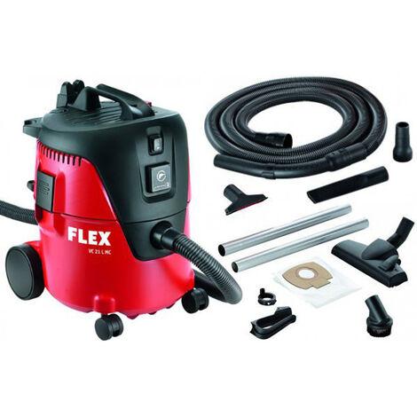 FLEX Aspirateur Industriel s44 L AC AUTOCLEAN 444.146 poussières classe L 5 Filtre Gratuit