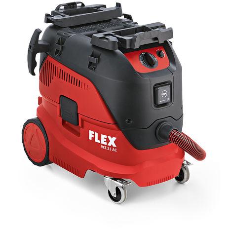 Flex VCE 33 L AC Aspirador de uso múltiple / aspirador de edificios - 1400W - Clase L - 30L