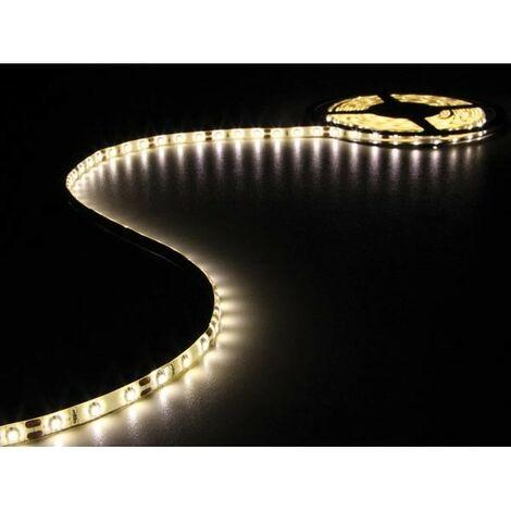 FLEXIBLE A LED - BLANC CHAUD - 300 LEDs - 5 m - 12 V (RI14377)