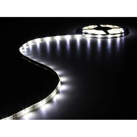 FLEXIBLE A LED - BLANC FROID - 150 LEDs - 5 m - 12 V (RI14374)