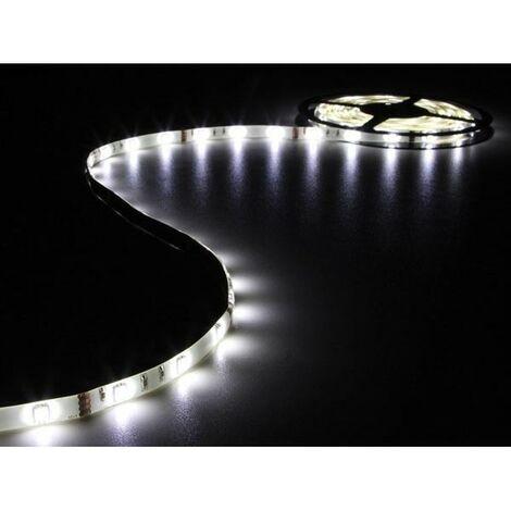 FLEXIBLE A LED - BLANC FROID - 150 LEDs - 5 m - 12 V (RI14378)