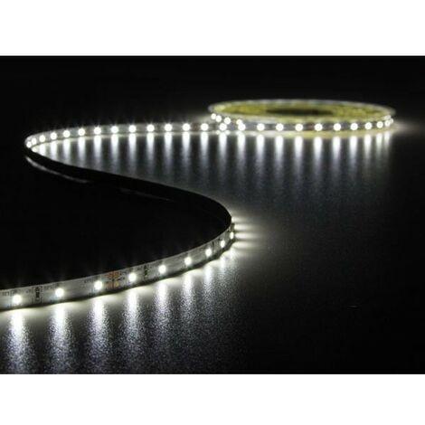 FLEXIBLE A LED - BLANC FROID 6500 K - 600 LEDs - 10 m - 24 V (RI6882)
