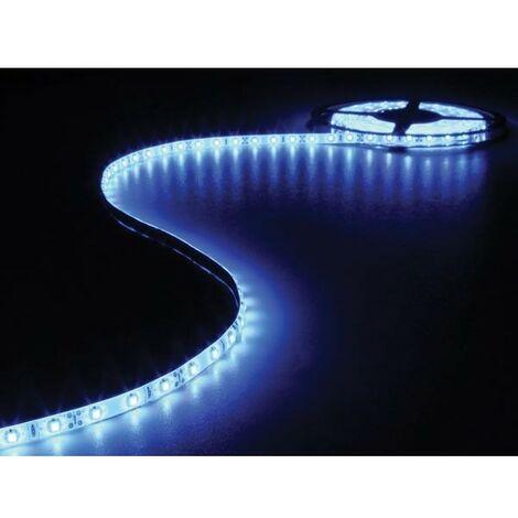 FLEXIBLE A LED - BLEU - 300 LEDs - 5 m - 12 V (RI14783)