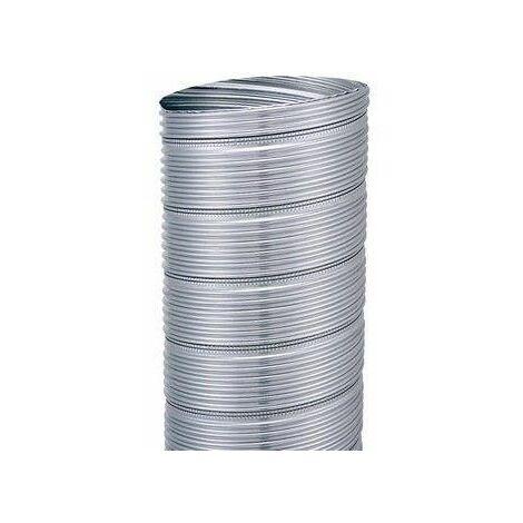 Flexible alu de tubage ou hotte 120x126 (1m)